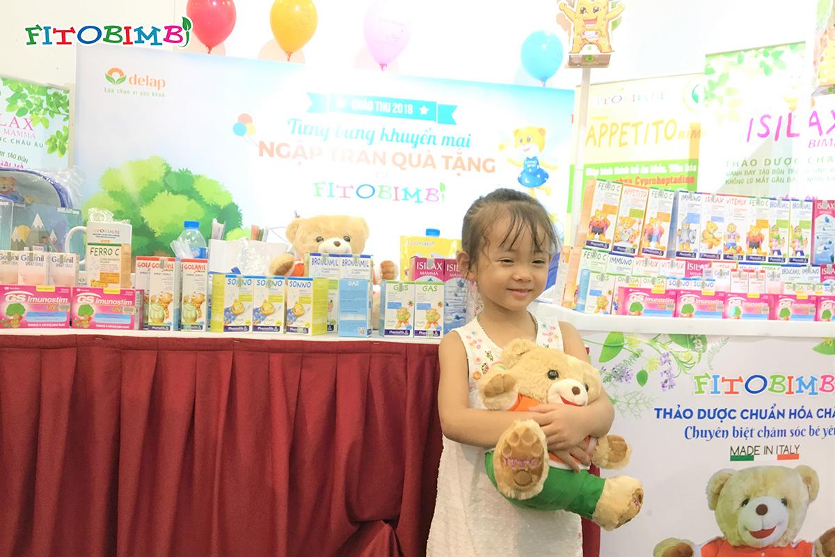 Quà tặng gấu bông Fitobimbi cho các bé