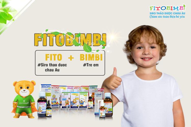 Fitobimbi - Siro thảo dược chuẩn hóa châu Âu