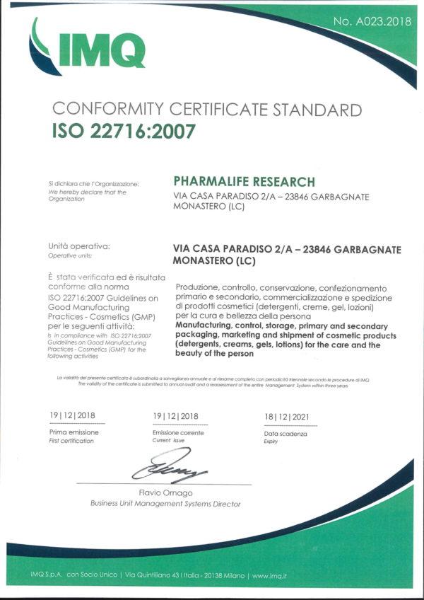 Chứng nhận uy tín khẳng định chất lượng sản phẩm Fitobimbi 1