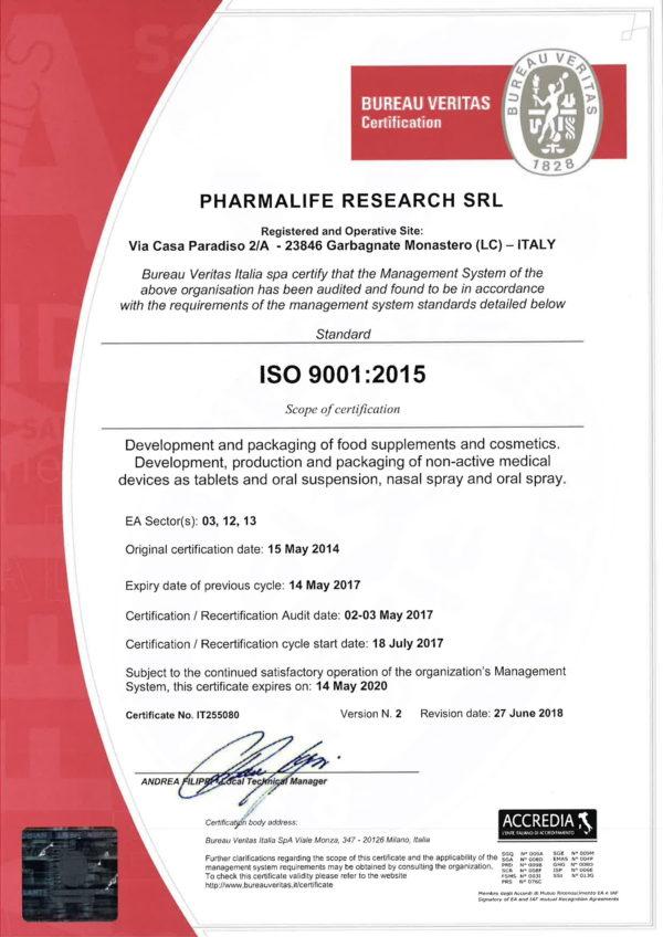 Chứng nhận uy tín khẳng định chất lượng sản phẩm Fitobimbi 2