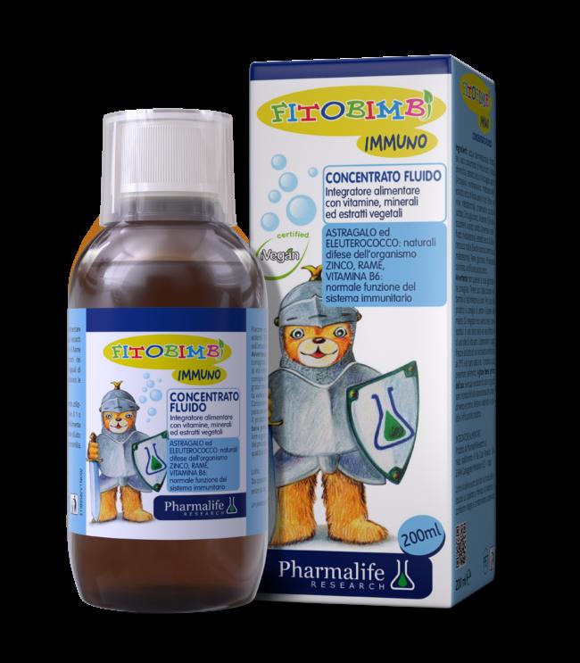 Immuno Fitobimbi - Siro thảo dược chuẩn hóa châu Âu tăng cường miễn dịch toàn thân cho trẻ