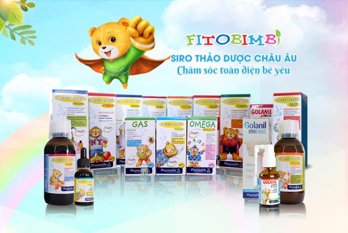 Các sản phẩm nhóm Fitobimbi