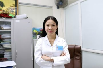 TS.BS Phan Bích Nga (Giám đốc Trung tâm tư vấn dinh dưỡng trẻ em, Viện Dinh dưỡng Quốc gia)