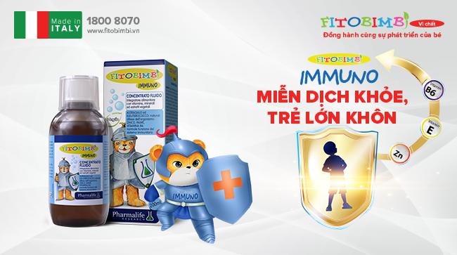 Fitobimbi Immuno - Tăng cường miễn dịch tự nhiên cho bé